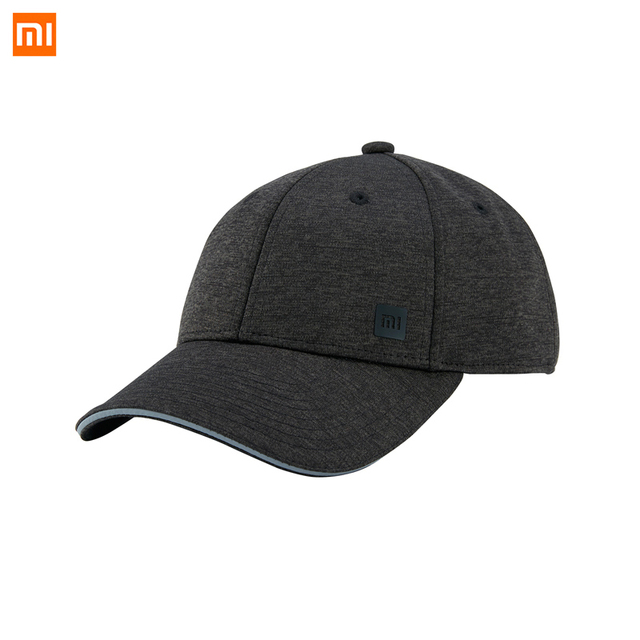 Xiaomi Youpin Trendy Solid Color Reflective Baseball Mi Cap Hat Sweat  Absorption Reflective Snapback Hip Hop For Men and Women d12eb56d2067
