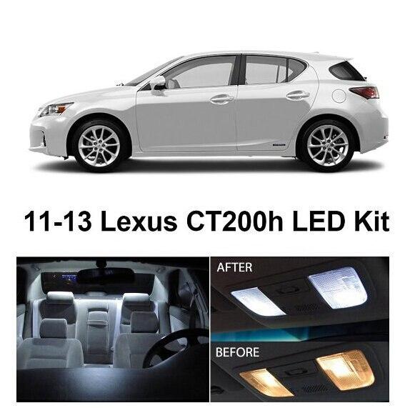 2011 Lexus Ct Exterior: Free Shipping 8Pcs/Lot Car Styling Xenon White Package Kit
