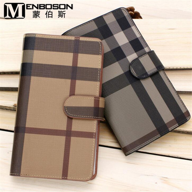 2017 New Europe United States Men Women Card Bag Checked Card Holder Fashion Business Card Holder Large Capacity Wallet B312