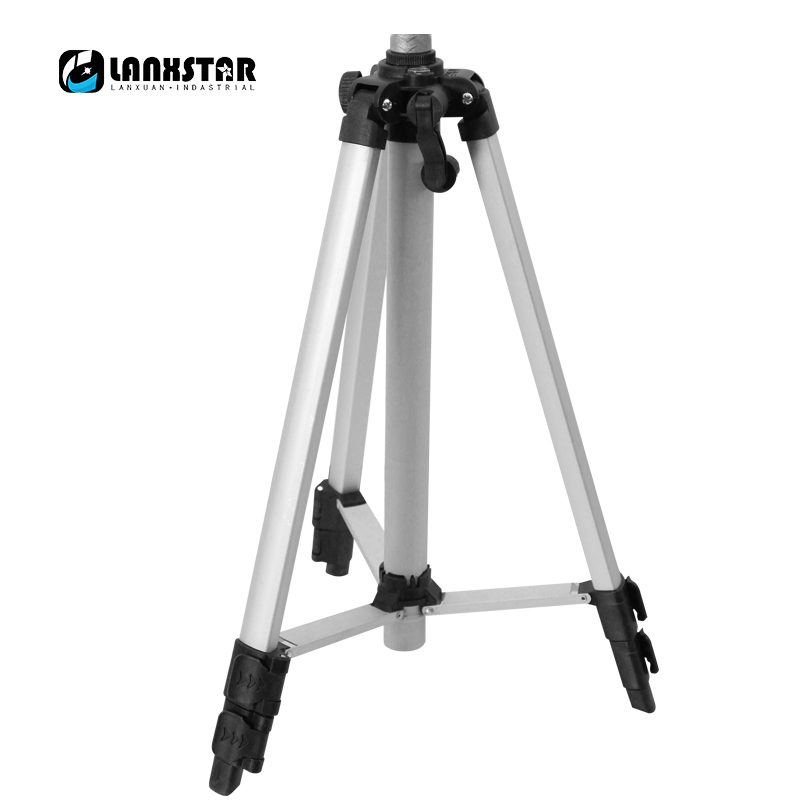 LANXSTAR Infrared Laser Level Tripod Aluminum Alloy Multifunction Tripod Outdoor Camera Laser Gradienter Brandreth Spider free shipping 1 2m aluminum tripod laser level tripod adjustable tripod laser line tripod