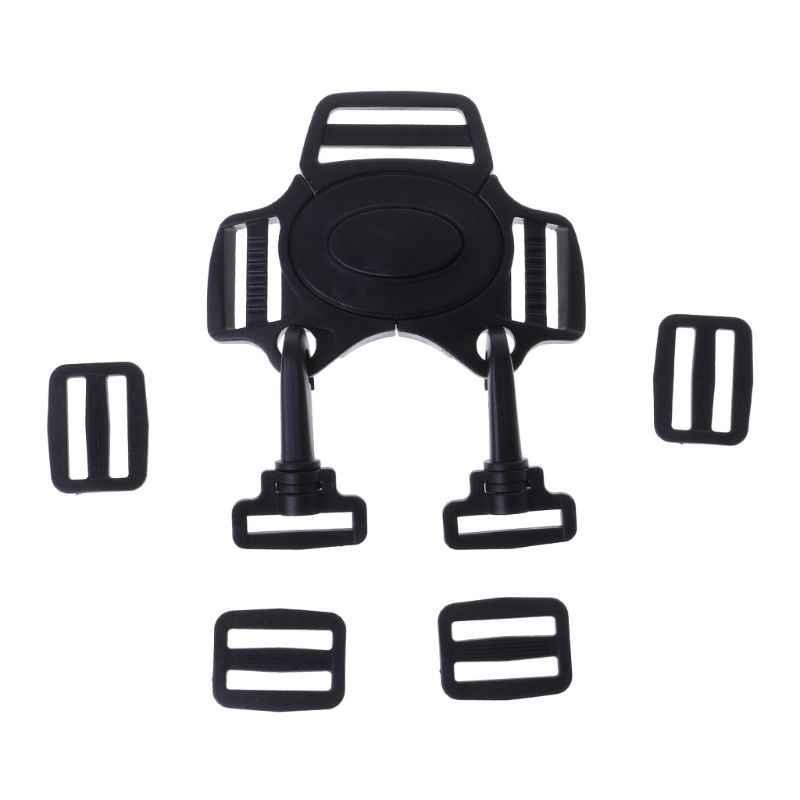 Горячее предложение 1 компл. ребенка 5-точечный ремень Блокировка Клип крючок коляски Коляска безопасный жгут ремень с пряжкой черный Высокое качество