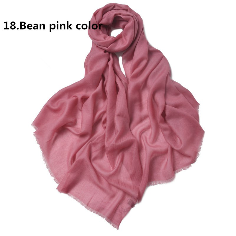 18. Bean pink color
