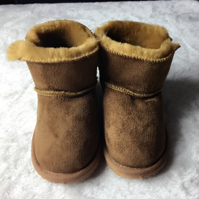 High quality winter very warm Baby snow boots handmade Toddler hard sole first walkers Baby moccasins baby shoes outdoors boots