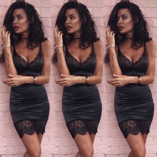 New 2018 Summer Sexy Women Bandage Bodycon Cocktail Party Club Mini Short Dress New 2018 Summer Sexy Women Bandage Bodycon Cocktail Party Club Mini Short Dress