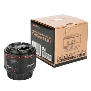 Image 5 - YONGNUO YN50mm F1.8 II Large Aperture Auto Focus Lens for Canon Bokeh Effect Camera Lens for Canon EOS 70D 5D2 5D3 600D DSLR