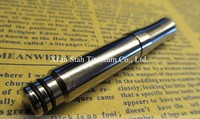 Pure Titanium Ti EDC Mini Moving Stretchy Ball point Tactical Pen / Key Accessory 13g/pc for Outdoors Camping