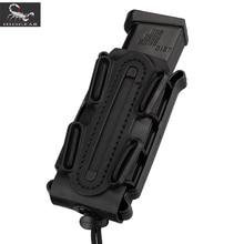 IDOGEAR 미 육군 잡지 파우치 군사 Fastmag 벨트 클립 플라스틱 몰리 파우치 가방 9mm softshell G 코드 권총 매기 캐리어 높이