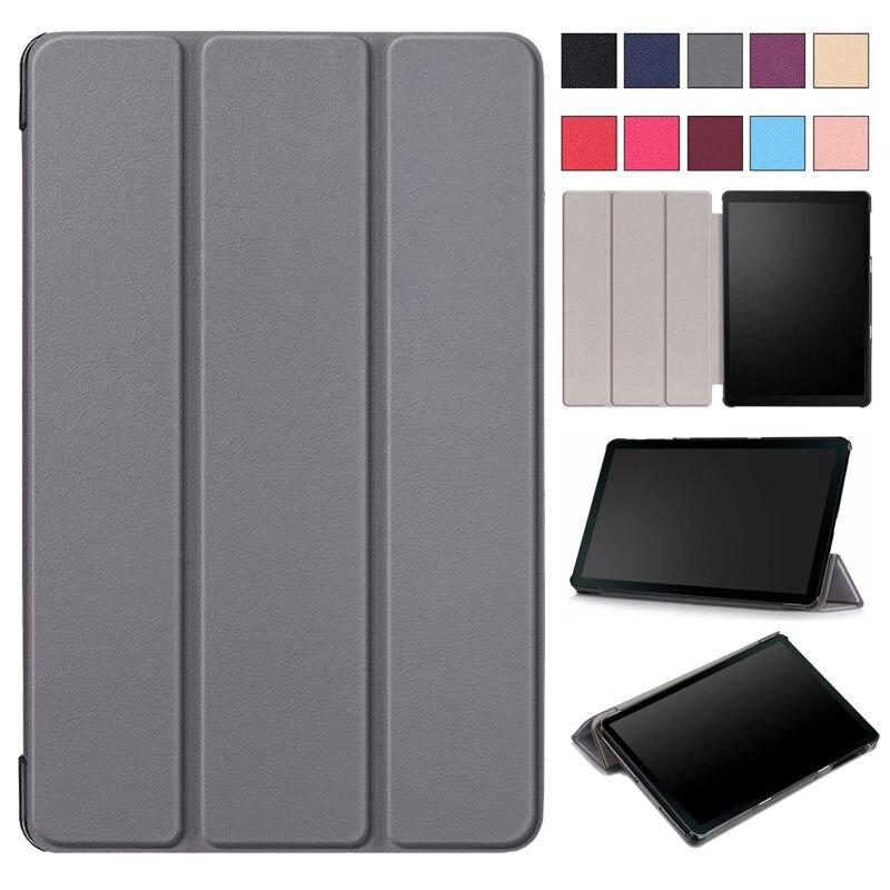 Caso para Samsung Galaxy Tab 2019 SM-T510 SM-T515 T510 T515 capa Tablet Stand Case para Tab 10.1'' 2019 caso tablet