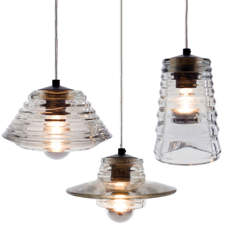 Pressed Glass Pendant Lens Bowl Tube Lamps Modern Suspension Light Lighting for Living Dining Room Restaurant Kitchen neon sign for donuts bar cakes cave real glass tube beer pub restaurant signboard store display shop light signs 17 14