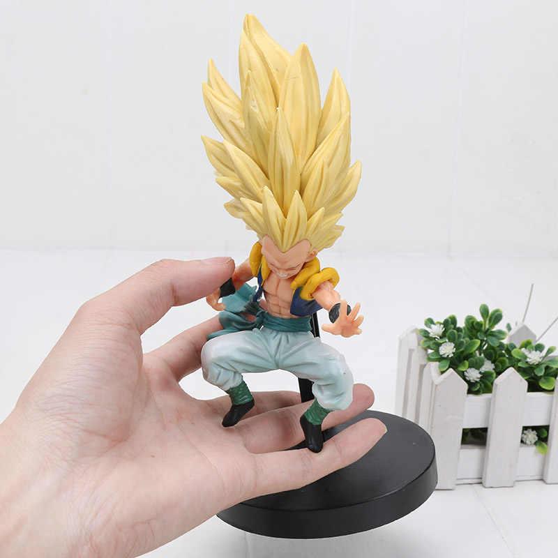 Dragon ball z ultra instinto filho gohan goku prata cabelo migatte não gokui vegetto troncos gotenks ação figura brinquedo