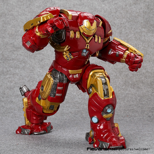 Avengers Age of Ultron Hulkbuster Mark 44 PVC Action Figure Collectible 10″ 26cm