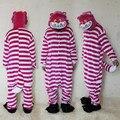 Чеширский кот комбинезон костюмы для взрослых женщин мужская пижамы хэллоуин ну вечеринку косплей камуфляж костюмы