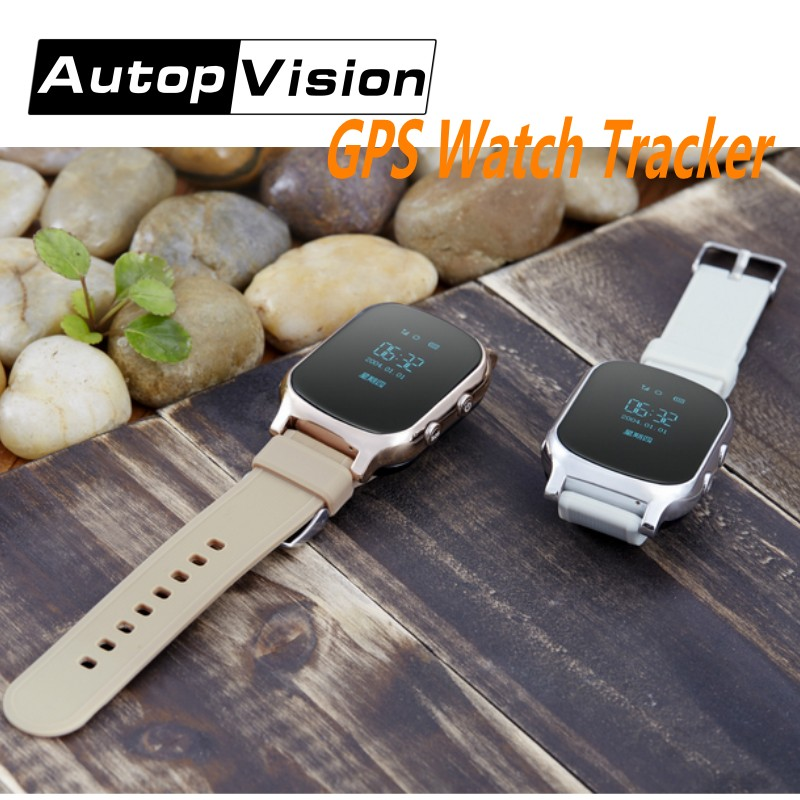 T58 Smart Phone Watch GPS Tracker Gsm GPS Bracelet Personal Locator for Kids Children Eder Adult with Google Map SOS Button