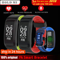 Original Hold Mi No 1 F4 Smart Bracelet Blood Pressure Blood Oxygen Heart Rate Monitor Smart