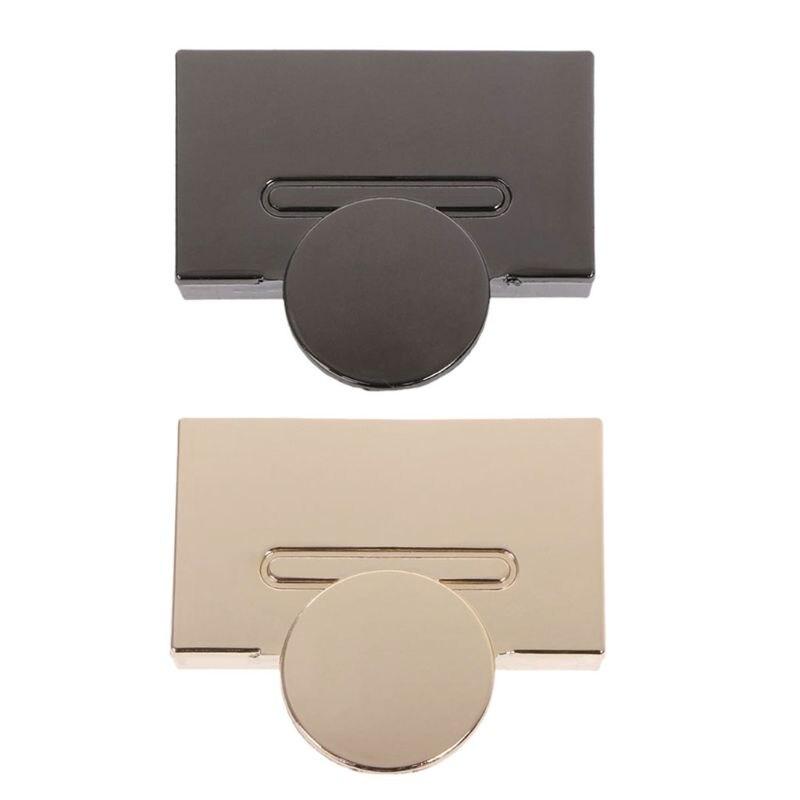 1PCS Buckle Twist Lock Hardware For Bag Shape Handbag DIY Turn Lock Bag Clasp