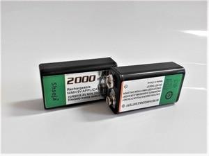 Image 3 - 4 pièces 9v SUPER GRAND 2000mAh batteries NiMH Rechargeable Batterie De 9 Volts + Universel 9v aa aaa batterie chargeur