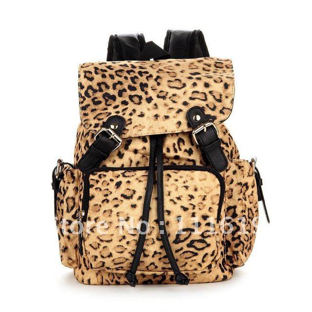 Free Shipping! New Arrival Bag Cute Small Backpack Leopard Backpack Zebra Backpack