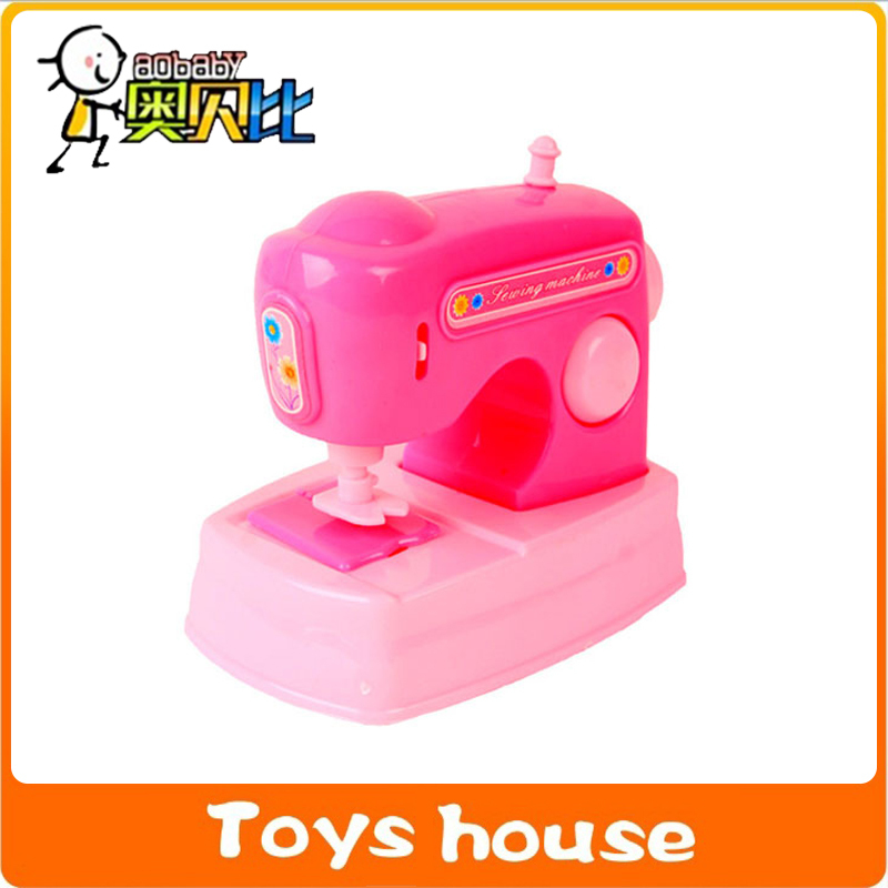 Mini Simulation Applicances Sewing Machine Toy Kids Electric Classy Girls Sewing Machine