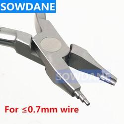 Dental ortodôntico tweed omega loop dobra formando alicate de aço inoxidável fio dobrar formulário alicate dental laboratório ferramenta