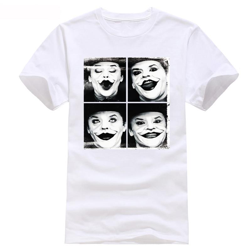 Jack Nicholson Joker Cool T Shirt t shirt xxxtentacion streetwear camiseta etranger things liverpool modis feyenoord ff