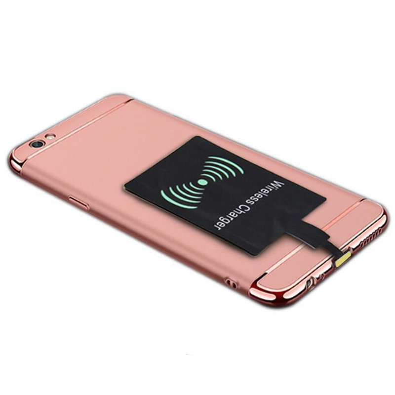 Wireless Charger Universal <font><b>Qi</b></font> Wireless Charger Adapter Receiver module For <font><b>iPhone</b></font> X <font><b>6</b></font> 7 8 Plus Samsung S7 S8 edge Note 8 image
