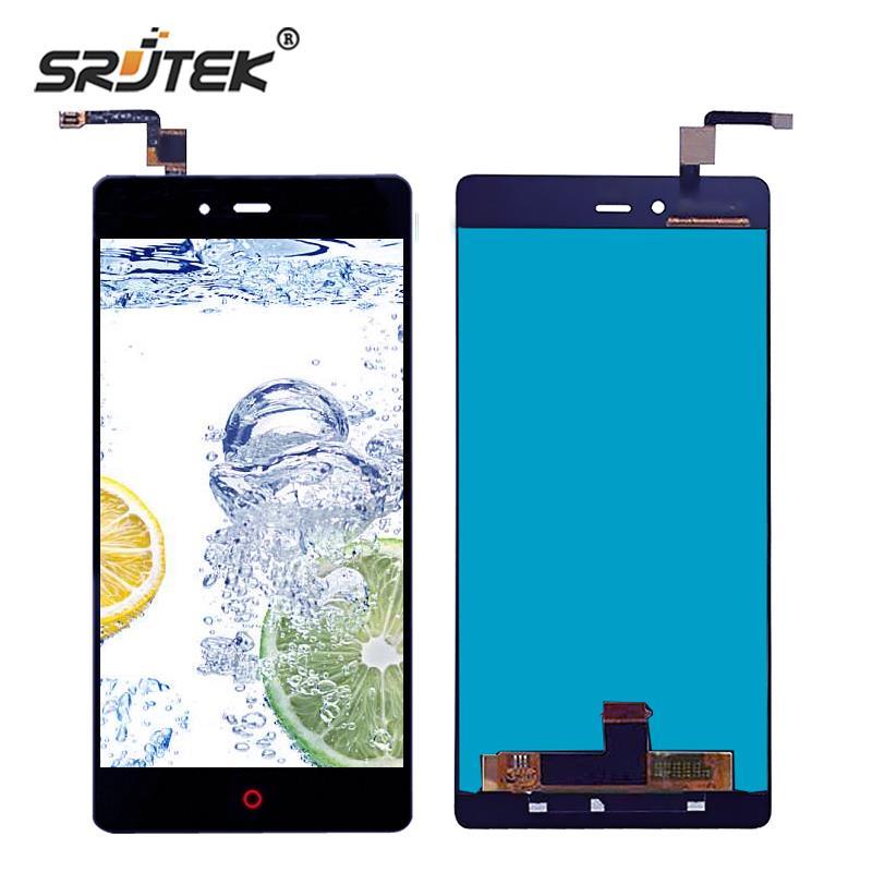 Srjtek Black For ZTE Nubia Z9 Max NX510J NX512J LCD Display Touch Digitizer Screen Sensor Assembly Replacement Parts
