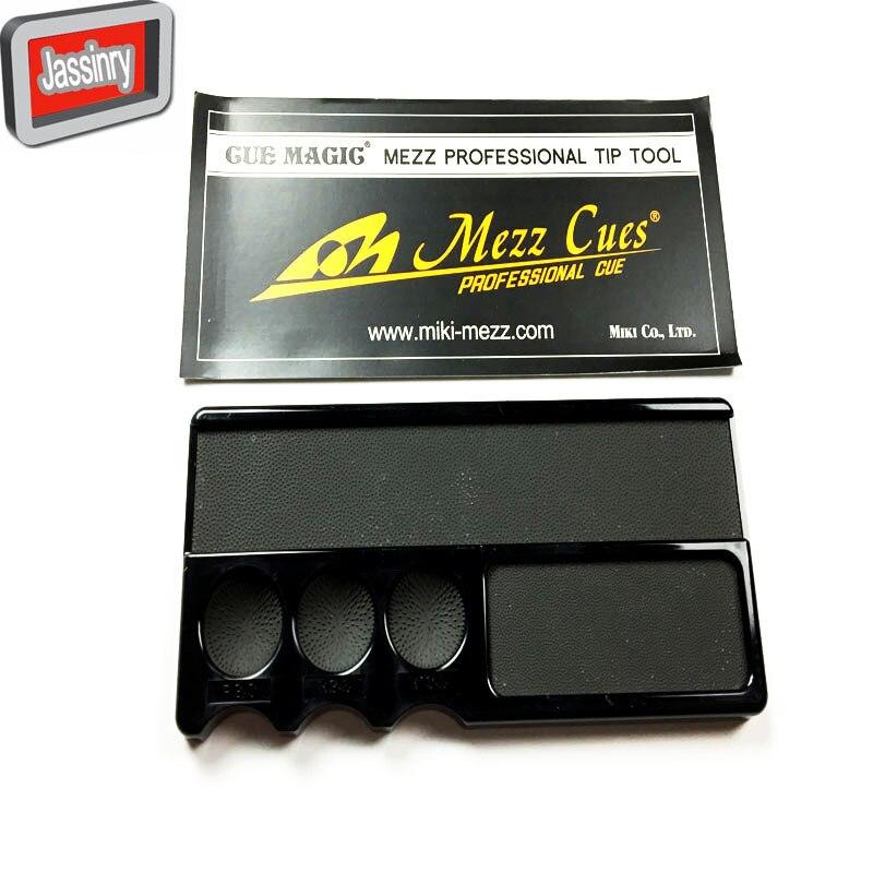 Original Mezz Professional Pool Tip Tools Billiards Carom Snooker Black Cue Magig repairer tool for Professional