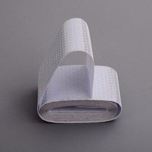 "Image 2 - 2 ""× 3メートル銀白色反射安全警告ジャケットテープハニカム環境フィルム材料交通安全"