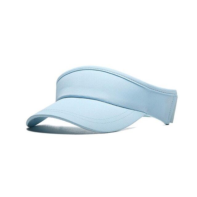 Muchique Packable Sun Visor with Elastic Spandex Women Sunscreen Cap for  Sports Golf Tennis Summer Hat Free Shipping 04788893dac