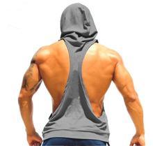 Hot!!men's GYM Hooded sports vest Gymshark Singlets Mens Tank Tops Stringer Bodybuilding Golds Gym Fitness Shirt Sports Vest