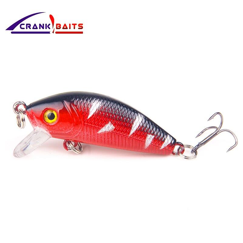 Crank Baits 2018 New Hot Excellent Brand Hot Professional Quality Crank Bait Good Fishing Lures 5cm Crank Bass Fishing Yb204