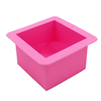 silicon molds  straight square box silicone cake pastry moulds