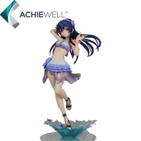 New Anime Sexy Long Live Girls Action Figure Toys Sonoda Umi Cute Character Cartoon Dolls Kids