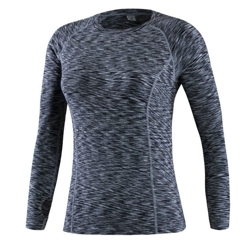 Super Elastische Lange Ärmeln Qucik Trocken Tech Frauen Yoga Shirt Schlanken Körper Gebaut Shapewear Dame Mädchen Sport Fitness Workout Tees