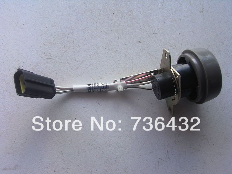 Livraison gratuite rapide! Bonne qualité Daewoo DH220-5 bouton de commande de bouton d'accélérateur de pelle pour pelle Doosan DH220/225/300-5