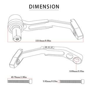 Image 5 - CNC Aluminum Clutch Lever hand Protector Motorcycle Accessories For Honda CBF1000 CB600F CBF600 SA hoRnet 250 CBR600F CBR600 SA