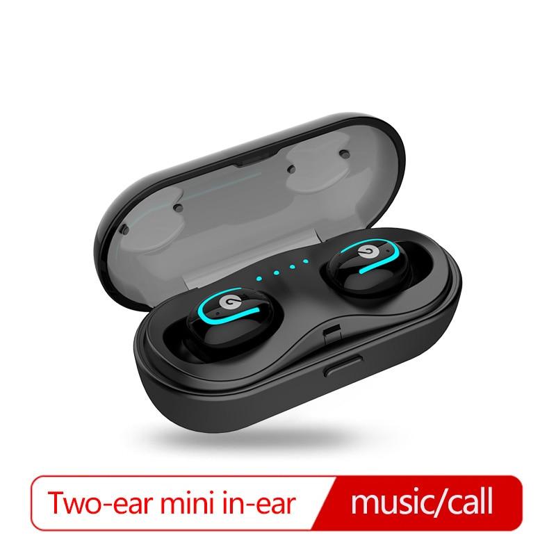 Oreillette Bluetooth sans fil deux oreilles sport oreillette mini run apple ultraléger mini furtif simple iphone7 in-ear 8 P casque x plus