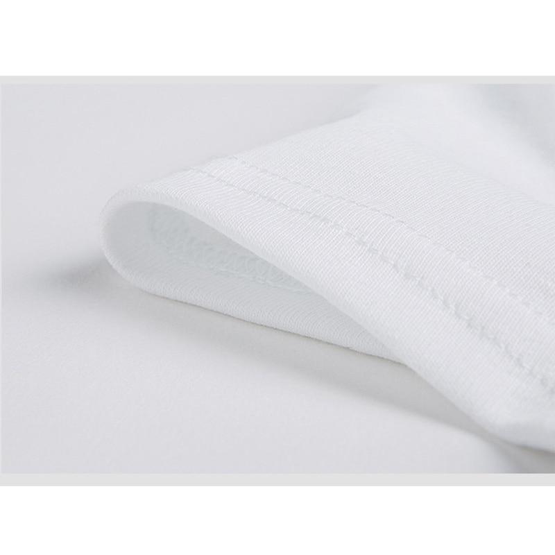 Tee Shirt Femme Basic მაისური ღრმა V-Neck Top - ქალის ტანსაცმელი - ფოტო 6