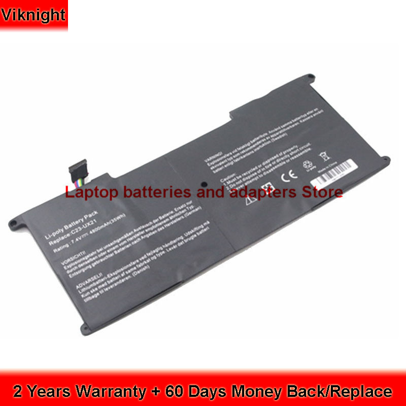 все цены на 7.4V Battery For Asus ux21e battery ASUS Zenbook UX21E UX21 C23-UX21 UX21A Ultrabook  4800mAh 35Wh онлайн
