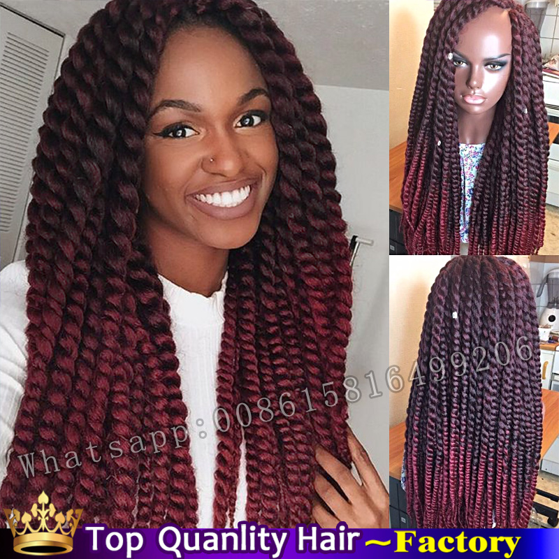 24inch havana mambo twist crochet braids hair xpressions kanekalon twist hair marley ombre gray. Black Bedroom Furniture Sets. Home Design Ideas