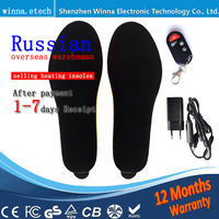 Electronic Heat Insoles Winter Women S Boots Pad Keep Your Feet Warm Russian Overseas Warehouse Direct