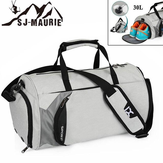 SJ-Maurie Sports Yoga Fitness Bag Outdoor Waterpfoof 30L Man Sporttaschen Sportsbag Large Capacity Training Gym Bags Women