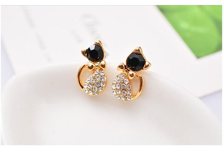 Cat Stud Earrings 4