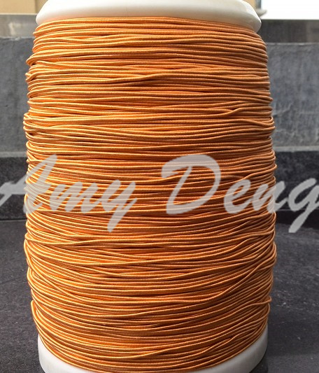 20meters/lot  0.04x660 Shares Many Shares (orange Silk Natural Silk Litz Wire)