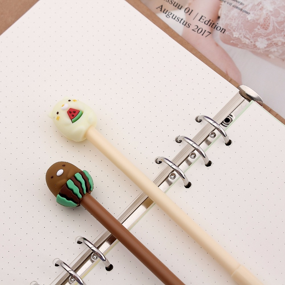 36pcs/lot Creative Japanese Cartoon San-x Sumikko Gurashi Gel Pen Promotion Gift Students School Office Signing Pen Stationery