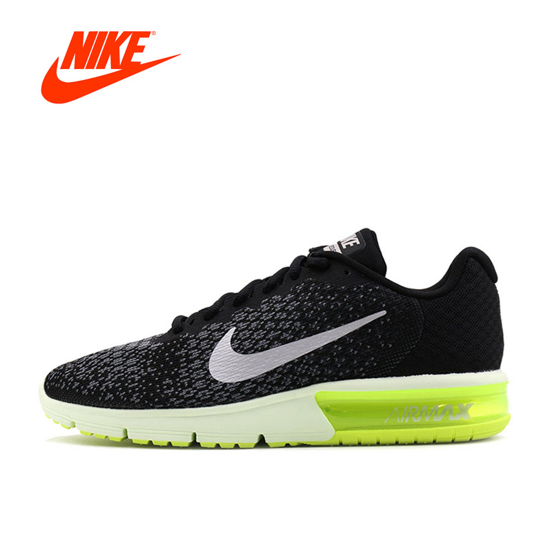 Original New Arrival Authentic NIKE AIR MAX SEQUENT 2 Breathable Mens Running Shoes Sports Sneakers Outdoor Walking
