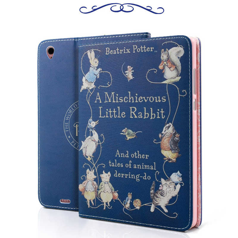 "Peter Rabbit Tablet Caso Shell de Protecção Para 9.7 ""Apple ipad Ar 2/ipad 6"