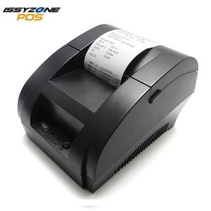 IssyzonePOS Thermal Printer Mini 58mm USB POS Cheap Receipt Printer For Supermarket Restaurant I58TP04 Logo Printer ESC/POS