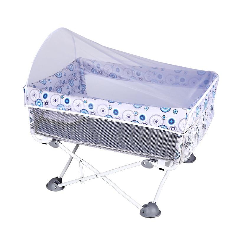 Lit pliant multifonctionnel de bb de berceau de bébé d'enfants de voyage extérieur - 4