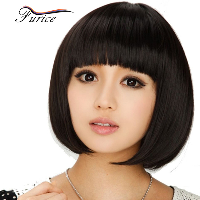 Very Short Wigs Hairpiece With Bangs For Black Women How -1492